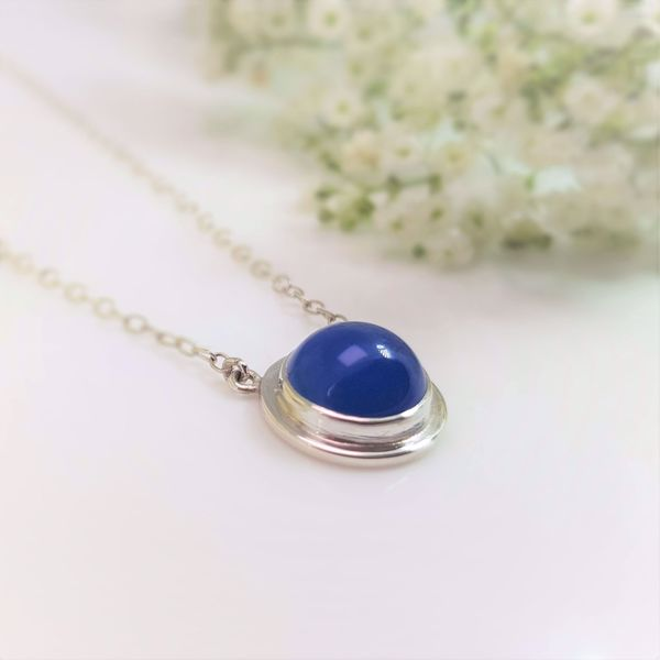 Picture of Blue agate pendant