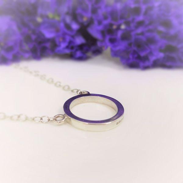 Picture of Plain circle pendant