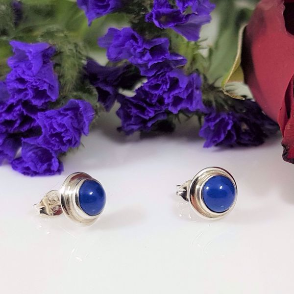 Picture of Agate stud earrings